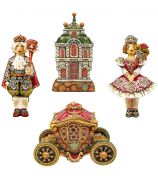 Набор коллекционных елочных украшений «Щелкунчик. Маскарад»