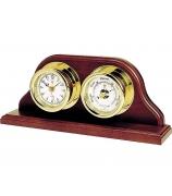 Настольные часы с барометром