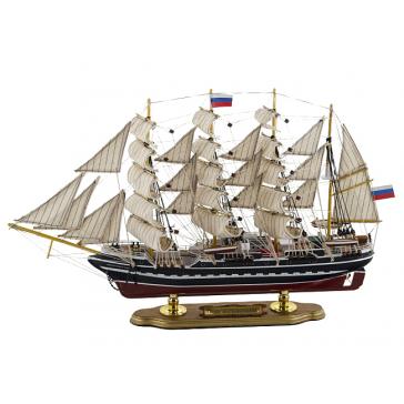 Модель корабля «Крузенштерн», 52х9х33 см