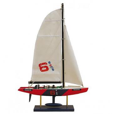 Модель яхты «TRANSICIEL», 34х56 см