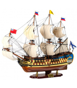Модель корабля линкор «Полтава»