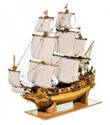 Модель корабля фрегат «Святой Павел» (масштаб 1:50)