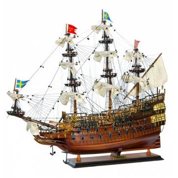 Модель корабля линкор «Wasa»