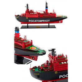 Модель корабля атомный ледокол «Россия»