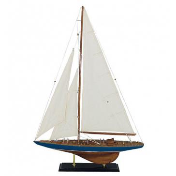 Модель яхты, 60х87 см