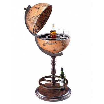 Глобус-бар напольный, диаметр сферы 40 см