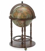 Напольный глобус-бар «Юнона»