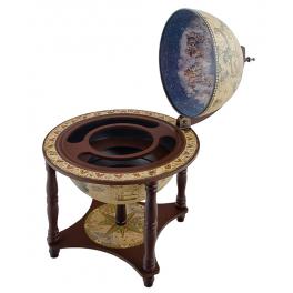 Глобус-бар настольный, диаметр сферы 33 см