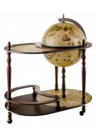 Глобус-бар напольный со столиком