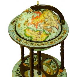 Глобус-бар напольный, диаметр сферы 36 см