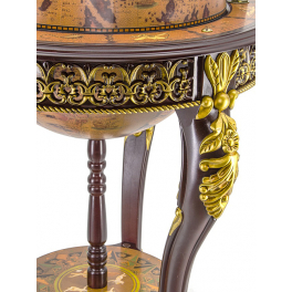 Глобус-бар напольный, диаметр сферы 45 см