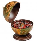 Глобус-конфетница