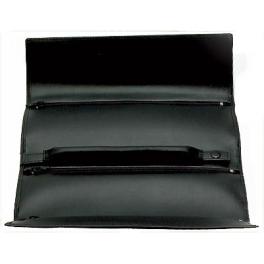 Дорожная шкатулка-сумка для украшений, материал: натуральная кожа