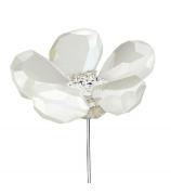 Фигурка неваляшка «Белый цветок»