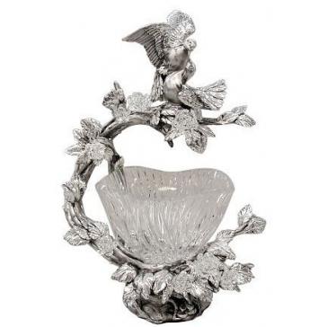 Подарочная конфетница «Влюбленные голубки»