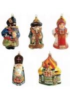 Набор елочных игрушек «Русская коллекция»
