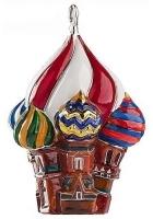 Елочная игрушка «Храм»