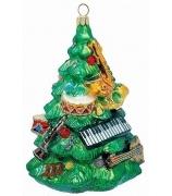 Ёлочная игрушка «Елочка с музыкальными инструментами»