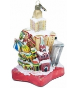 Ёлочная игрушка «Зимняя столица»