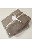 Комплект из 3 полотенец «Palma стежок»