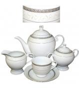 Чайный сервиз «Серебряная лилия»