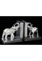 Набор держателей для книг «Два слона»