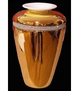 Ваза для цветов «Роскошь золота»