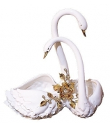 Ваза для фруктов «Лебеди»