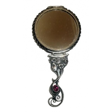 Серебряное зеркало «Красавица»