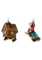 Набор елочных игрушек «Бабуся-Ягуся»