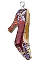 Елочная игрушка «Туфелька»