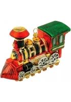 Елочная игрушка «Паровоз»
