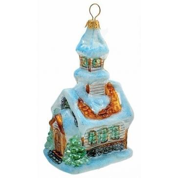 Елочная игрушка «Дом», Komozja и Mostowski, Польша