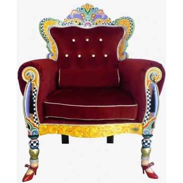 Дизайнерское кресло трон «Версаль» от Томаса Хоффмана, Германия.