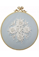 Настенное пано-медальон «Цветы»