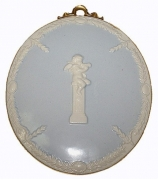 Настенный медальон «Ангелочек-музыкант»