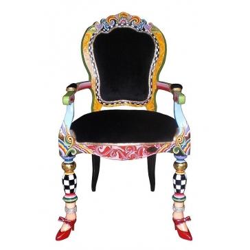 Дизайнерское кресло «Версаль» от Томаса Хоффмана, Германия.