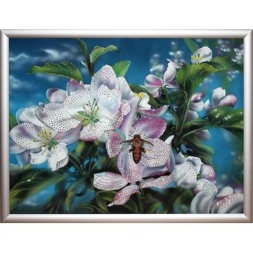 Картина Сваровски «Яблоневый цвет»