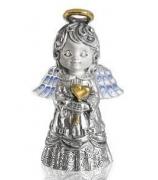 Серебряный сувенир-колокольчик «Любовь»
