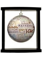 Глобус самовращающийся «I love you»