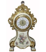 Настольные часы «Розы»