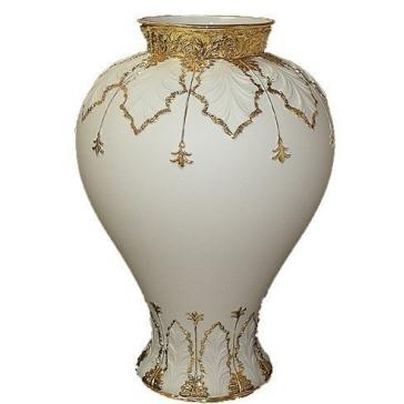 Фарфоровая ваза для цветов, Cattin, высота 25 см