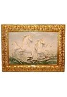 Интерьерная картина «Бегущие кони»