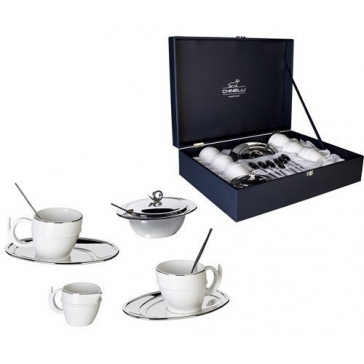 Чайный сервиз на 6 персон «RICCIOLO»