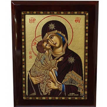 Подарочная икона «Божья Матерь Владимирская»