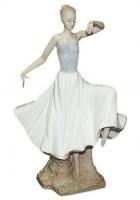 Фарфоровая статуэтка «Балерина в танце»