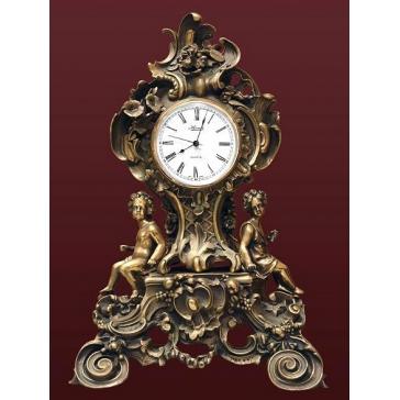 Каминные часы из бронзы «Стиль Классика»