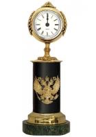 Бронзовые часы «Герб России»