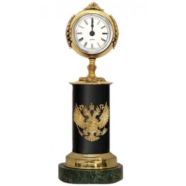 Часы из бронзы «Герб России»