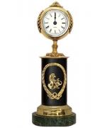 Бронзовые часы «Знак Зодиака-Лев»